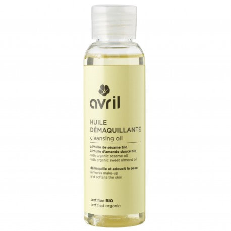 Cleansing oil - 100 ml - certified organic