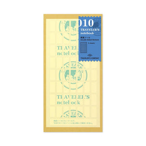 TRAVELER'S COMPANY - Regular  - 010 Double Sided Stickers