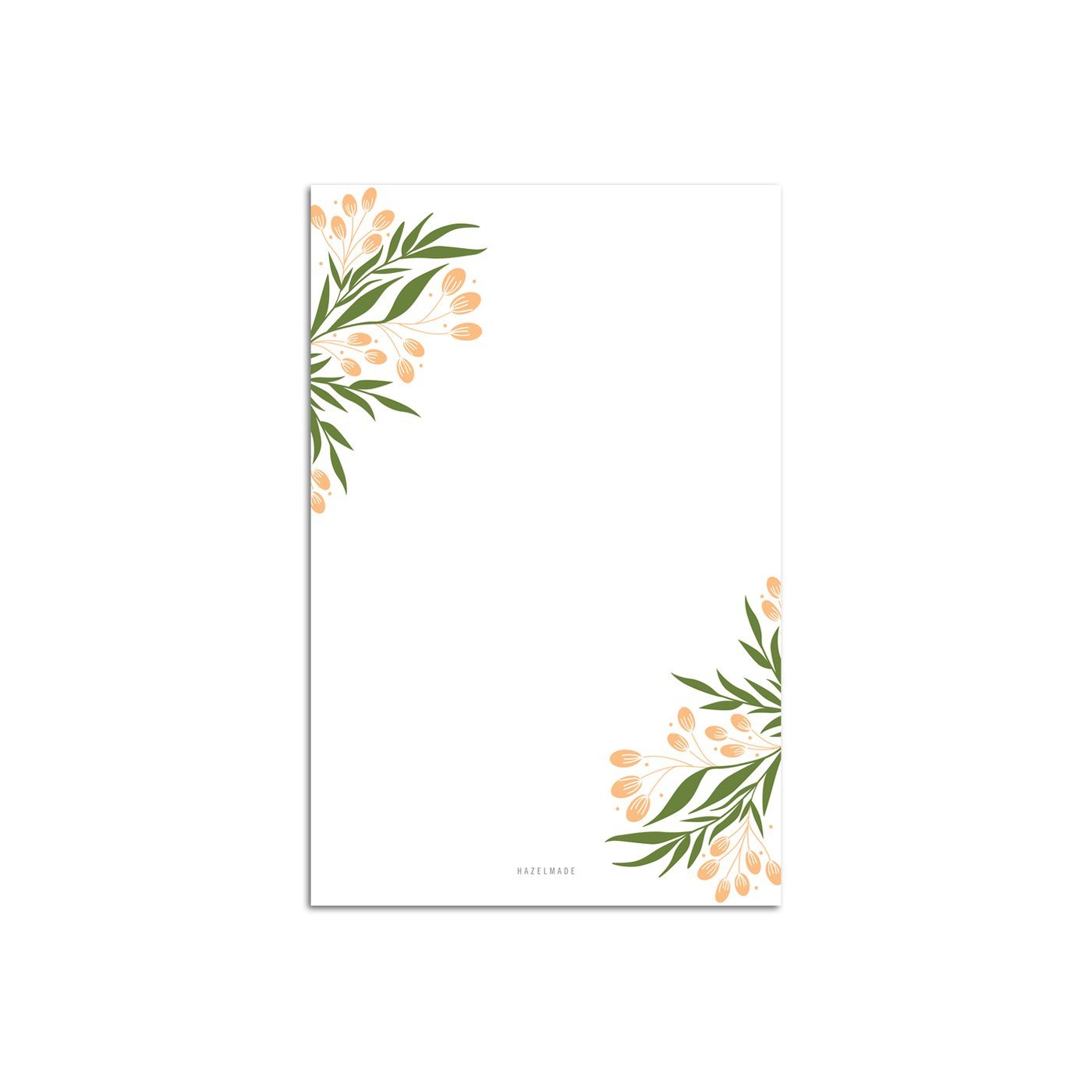 HAZELMADE - Tuscan Florals Large Note Pad