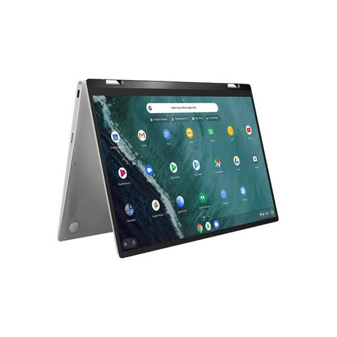ASUS Chromebook Flip C434TA-DS384T 14,0 inch touchscreen Intel Core m3-8100Y 1.1GHz / 8GB LPDDR3 / 64GB eMMC / Chrome Notebook (zilver)