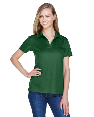 D&J Forest Green Short Sleeve Polo (Ladies 2XL)