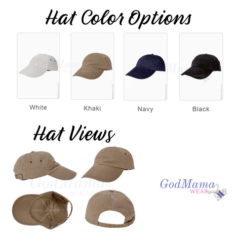 1865 Solid Color Commemoration Hat
