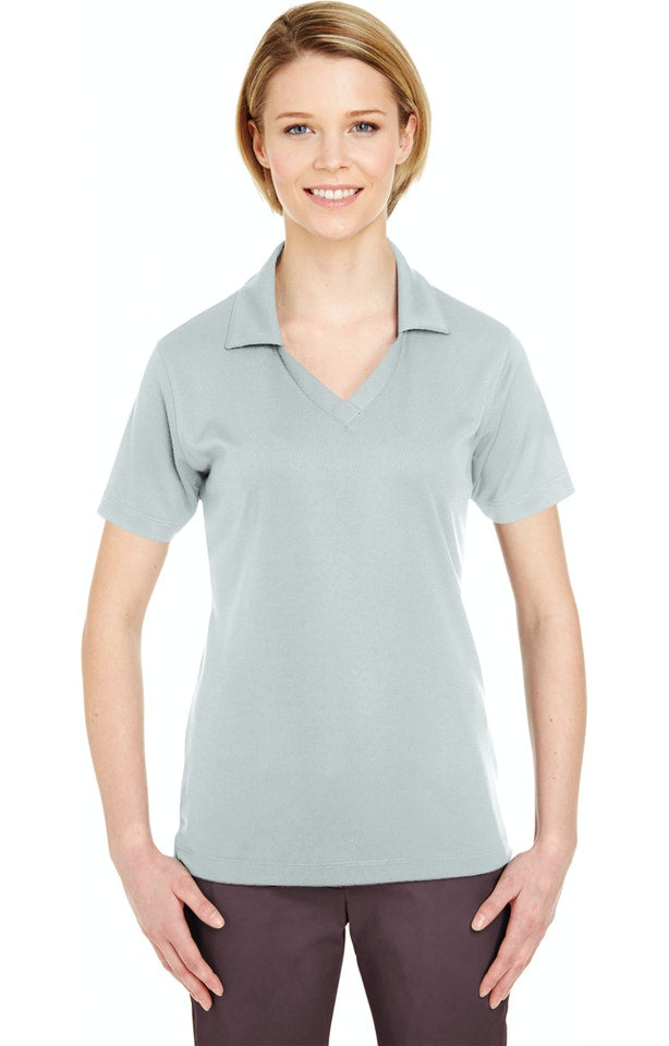 UC-P Short Sleeve Jacquard Polo (Ladies Medium)