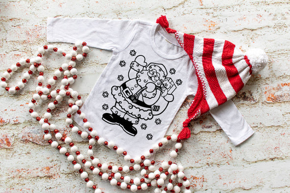 Santa Coloring Shirt (Child)