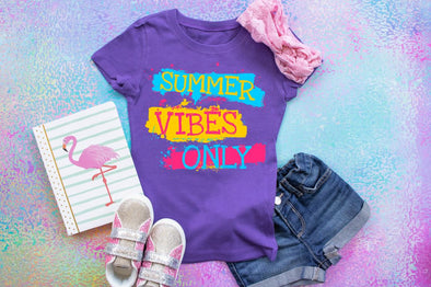Summer Vibes Only Youth Tee