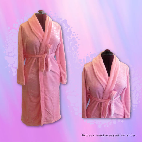 Embroidered Ultra-soft Luxury Robe - Monogram / Name