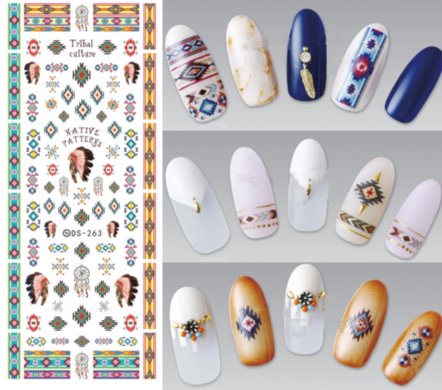 Nail art Water Transfer Stickers in lots of designs ...