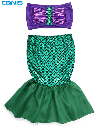 Mermaid Costume Ages 2-7