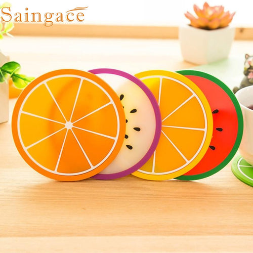 Coasters for drinks in Fruits Designs