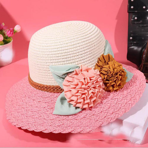 Sunhat Foldable Beach Straw Hat