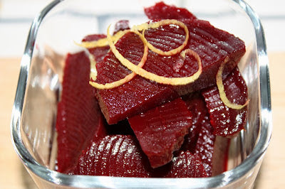 Serrano-Honey Vinegar Pickled Heirloom Beets