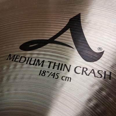 "Zildjian 18"" A Medium Thin Crash"