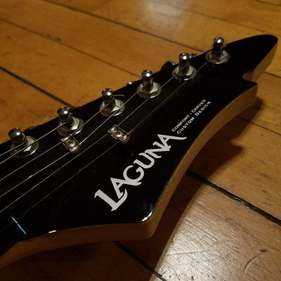 Laguna LE22 Black Finish Electric Guitar