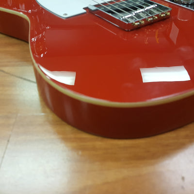 Indiana Tell City Double Bound T Style Electric Guitar