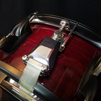 Premier Made in England 14x5.5 Burgundy Snare Drum
