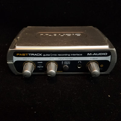 M-Audio Fast Track Guitar USB Recording Interface