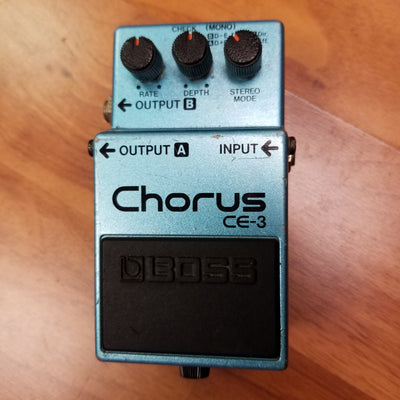 Boss CE-3 Chorus Green Label