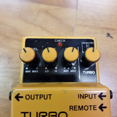 Boss DS-2 Turbo Distortion Pedal *MODDED*