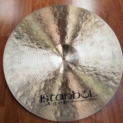 Istanbul 20in AGOP Traditional Dark Ride Cymbal