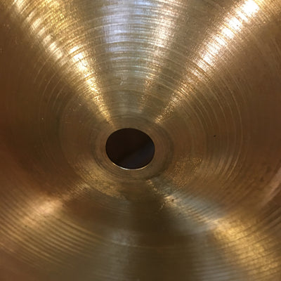 80s to 90s Zildjian 14 New Beat Hi Hat Cymbals (heavier bottom)