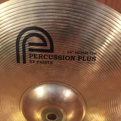 Percussion Plus by Paiste 14in Hi Hat Cymbals