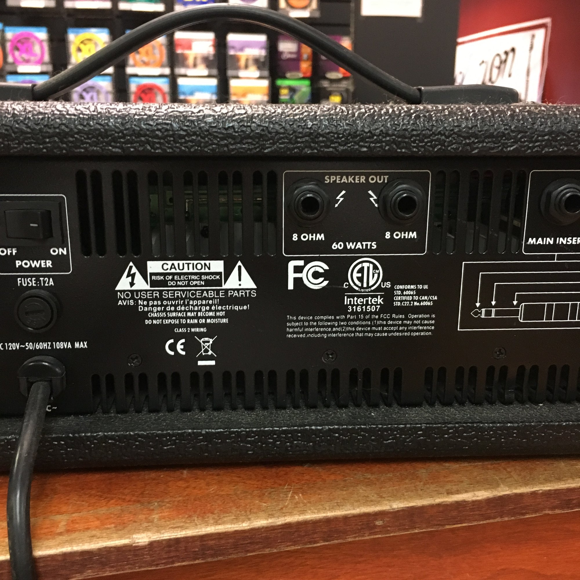 Harbinger Ha60 4 Channel Pa With Speakers Evolution Music Surface Wiring