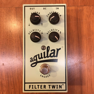 Aguilar Filter Twin Dual Envelope Bass Filter Pedal