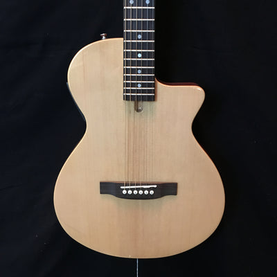 Johnson JG-50-NA Solid Body Thin line Acoustic-Electric Guitar