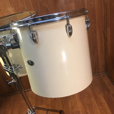1970s Slingerland Concert Bongo Toms 14 and 15 w Stand