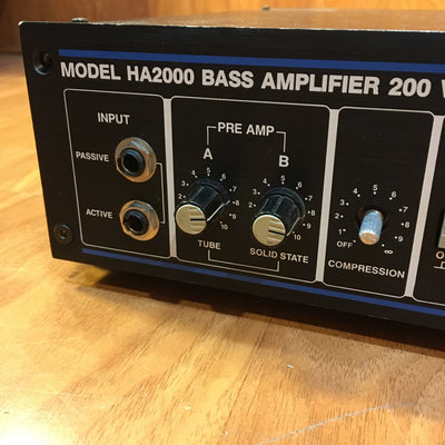 Hartke HA2000 Bass Head