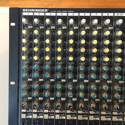 Behringer Eurorack MX 2642A 24 Input 4-Bus Mixing Console