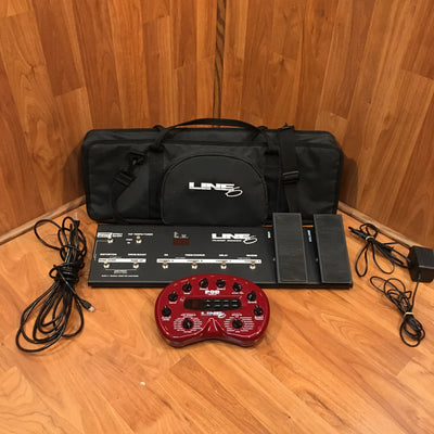 Line 6 POD 2.0 & Floor Board w/ case Bundle