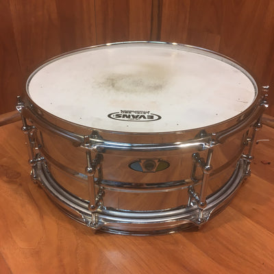 "Ludwig 13""x6"" Supralite Steel Snare"