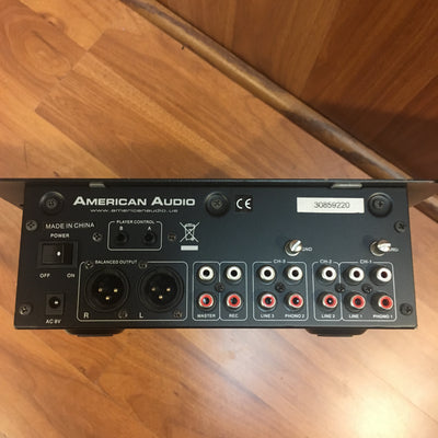 American Audio Q-D6 3 Channel Pro DJ Mixer