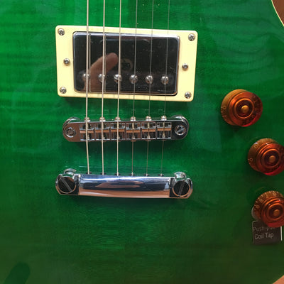 LTD EC256 Trans Green Electric Guitar