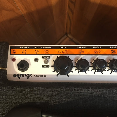 Orange Crush 20 (Black) Guitar Combo Amp