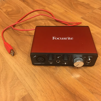 Focusrite Scarlet Solo USB Interface