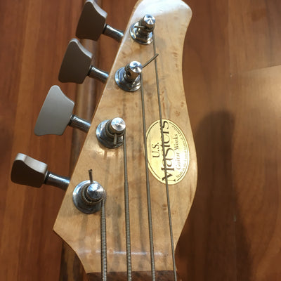 US Masters Guitar Works B152 Bass w/ Hardshell Case