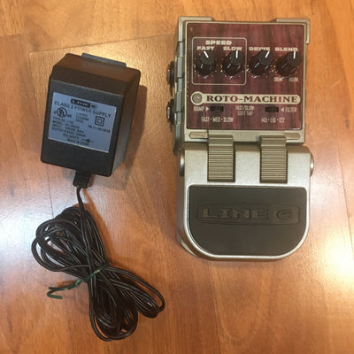 Line 6 Roto Machine Pedal w/ Pwr Sup & Box
