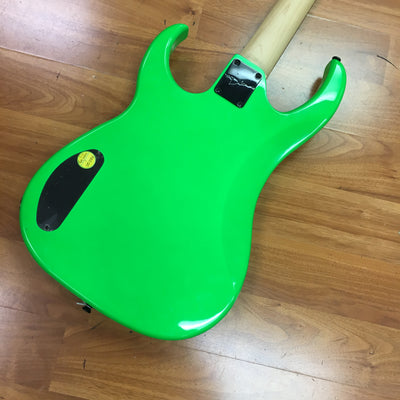 Dean Custom Zone Bass Nuclear Green