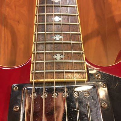 Samick Red Semi-Hollow Electric Guitar