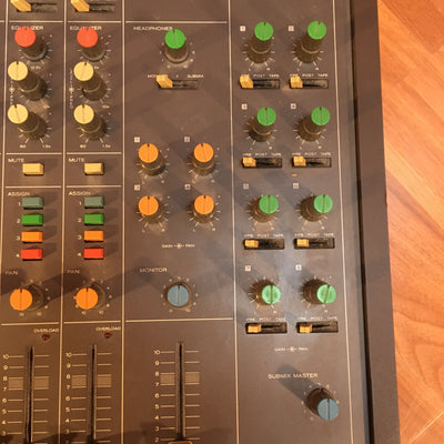 Vintage Tascam M-30 Analog 8-Channel 4 Submix Mixer