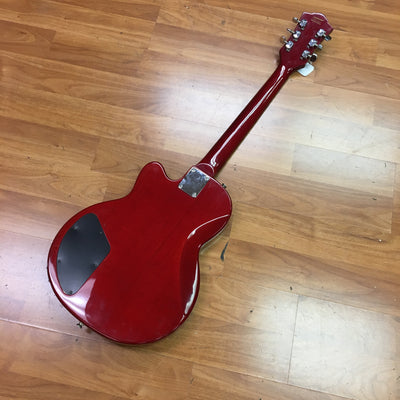 DeArmond M55 Electric Guitar Trans Red