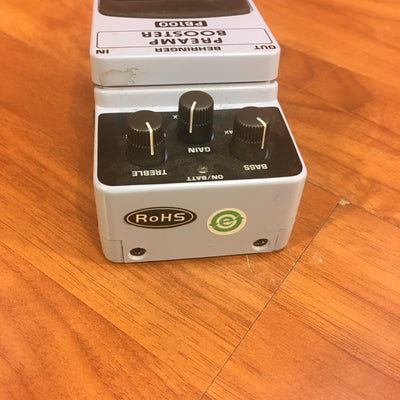 Behringer PB100 Preamp Booster Pedal