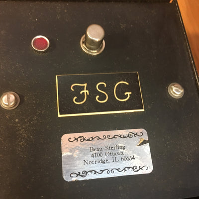 Vintage Govox Midi System w 2 Modules and Footswitches
