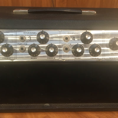 Vintage 70's Fender PA 100 4 Channel Tube Head