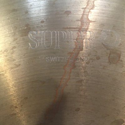 Super Switzerland Vintage 14In Crash Cymbal