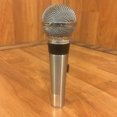 1960s Shure 565SD Dynamic Mic (barely works)