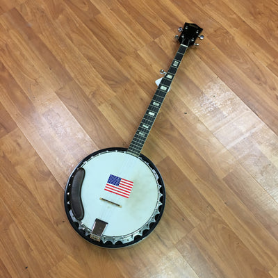 Global 5 String Eagle Banjo