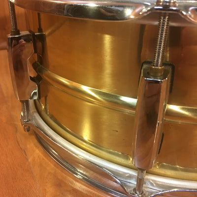 Pearl Sensitone 13x5.5 inch Brass Snare Drum